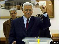 Candidate Mahmoud Abbas