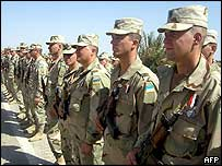Ukrainian troops in Iraq (October, 2004)