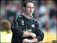 Celtic manager Martin O'Neill