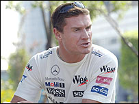 Red Bull driver David Coulthard
