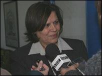 Mayya Kafri, directora de la escuela Al-Mustaqbal, en Ramala
