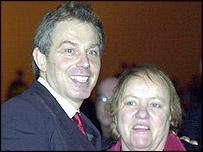 Tony Blair and Mo Mowlam