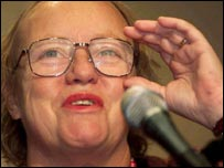 Mo Mowlam at the Labour Party conference