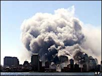 9/11 attack on World Trade Center, New York