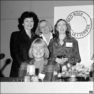 Joan Ruddock, Ann Clwyd, Mo Mowlam and Margaret Beckett pictured in 1988