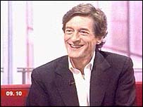 Nigel Havers talks to Dermot and Natasha in the Breakfast studio