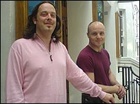 Tutors Darren Smallridge and Bruce Wooding
