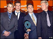 Westlife singer Mark Feehily