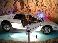 Lotus Esprit at the Cars of the Stars Motor Museum, Cumbria