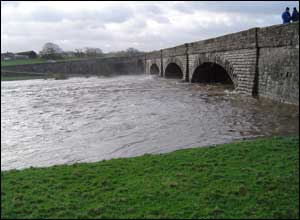 River Derwent in flood