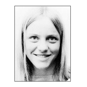 Mo Mowlam in her student days. Picture courtesy Durham University