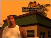 Screenshot from GTA: San Andreas, Rockstar Games