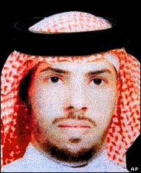 Salih al-Awfi in an image released by the Saudi security services