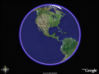 Google Earth (picture copyright: Google)