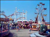 Funfair (pic sent by Denbighshire county council)