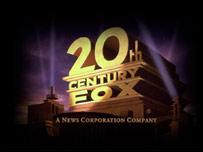 The 20th Century Fox film studio logo