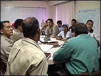 Comité de trabajadores y directivos en Alcasa