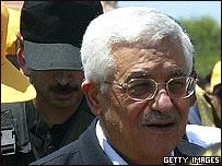 El presidente de la Autoridad Nacional Palestina, Mahmoud Abbas