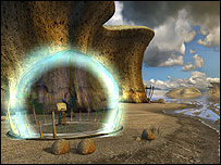 Screenshot of Myst: End of Ages