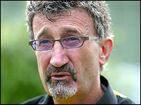 Team boss Eddie Jordan