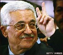 Mahmoud Abbas, presidente electo de la ANP