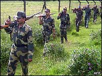 Indian border guards