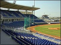 Один из олимпийских стадионов в Афинах