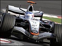 McLaren's Kimi Raikkonen