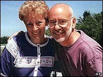 Carol and Robert Ernst - file photograph from 1997