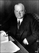 Herbert Hoover, relief organiser and later US president.