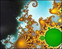 Ejemplo de una imagen fractal (Foto: gentileza de IBM)