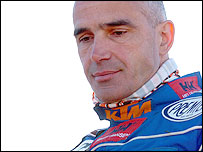 Italian motorcyclist Fabrizio Meoni