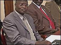 Retired Kenyan General Lazaro Sumbeiywo