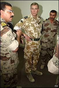 Prince Andrew in Basra