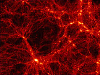 """Cosmic web"" - the structure of matter in the Universe (AAO)"