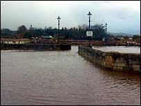Floods at Corbridge