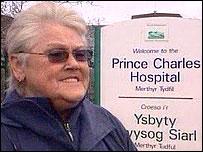 Dianne Williams, patient's wife