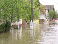 Floods in Romania