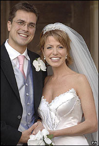 Natasha Kaplinsky with her husband Justin Bower
