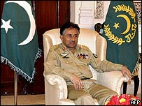 Pakistan President Pervez Musharraf