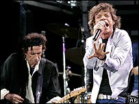 The Rolling Stones in Boston on 21 August