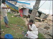Fishermen in Beruwala