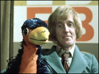 Emu and the late Rod Hull