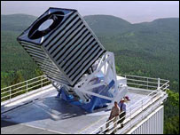 The 2.5m reflecting telescope of the Sloan Digital Sky Survey (SDSS)