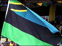 Zanzibar's new flag