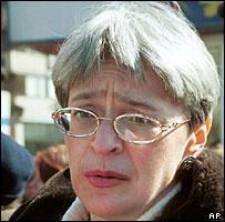 Anna Politkovskaya (file image)
