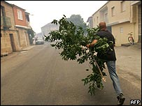 Villager in Spain