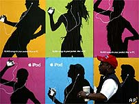 iPod adverts