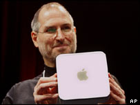 Steve Jobs and Mac mini, AP