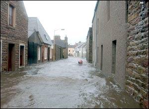 Street in Ronaldsey, Orkney
